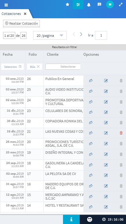 Evidence Technology - Evidence ERP, el mejor software de México